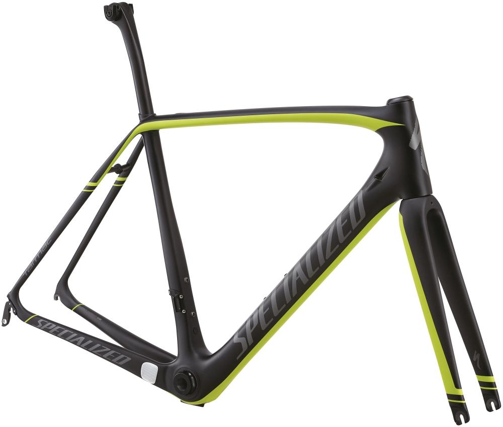 TARMAC PRO FRMSET CARB/HYP GRN/CHAR 54 - Alpha Bikes