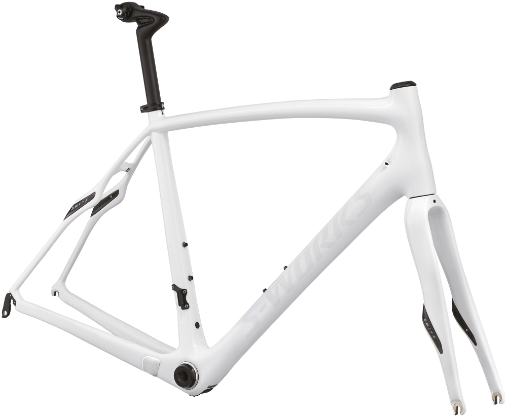 SW ROUBAIX SL4 FRMSET WHT 54 - Alpha Bikes