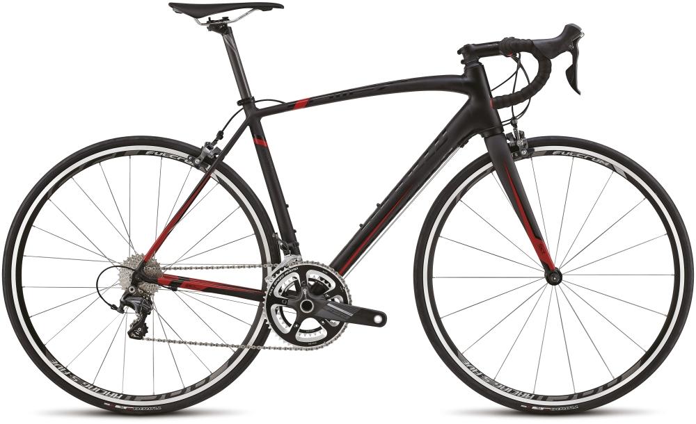 ALLEZ EXPERT BLK/RED 52 - Alpha Bikes