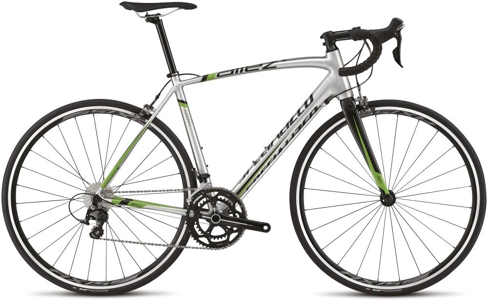 ALLEZ COMP BRSH/BLK/MON GRN 52 - Alpha Bikes