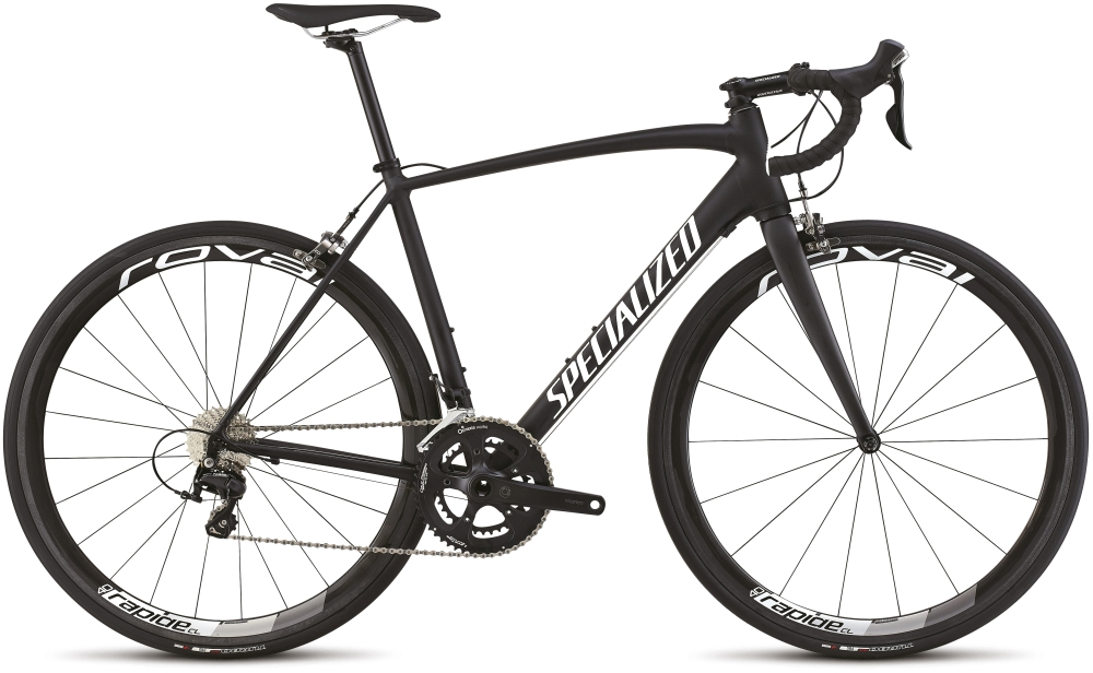 ALLEZ COMP RACE BLK/WHT 52 - Alpha Bikes