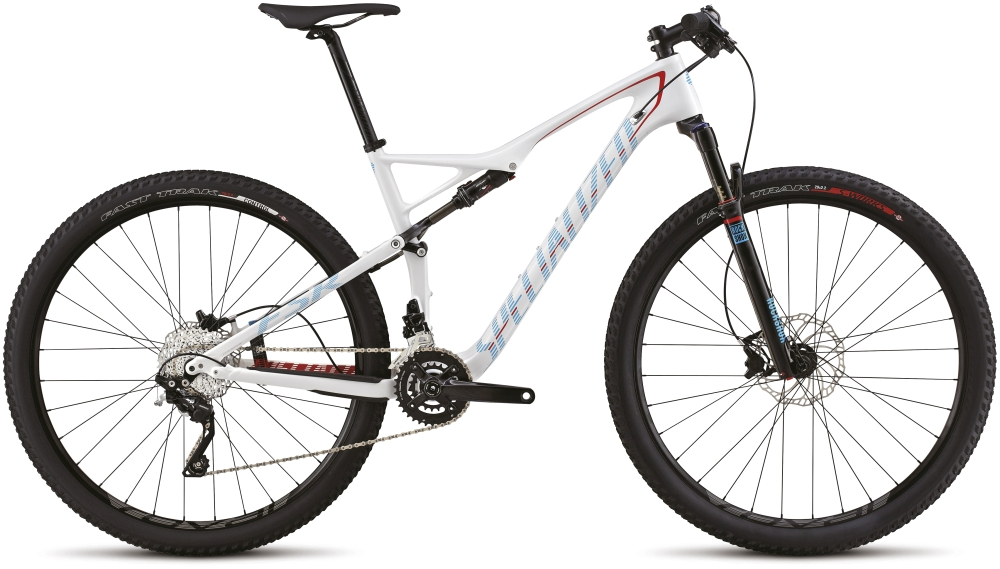 EPIC FSR COMP CARBON 29 WHT/RED/BLK/CYAN S - Alpha Bikes
