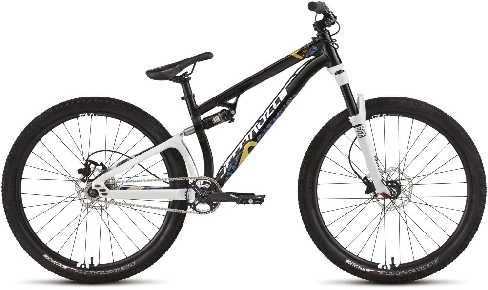 P SLOPE BLK/WHT/CYAN/GLD 22 - Alpha Bikes