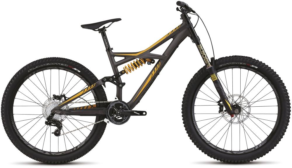 Specialized ENDURO FSR EXPERT EVO 650B CHAR/YEL/BLK M - Bartz Bikesystem & Velodepot