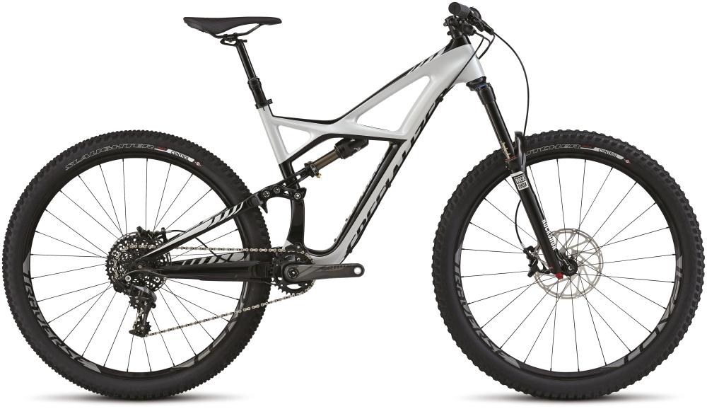 ENDURO FSR EXPERT CARBON 29 DRTY WHT/BLK M - Alpha Bikes
