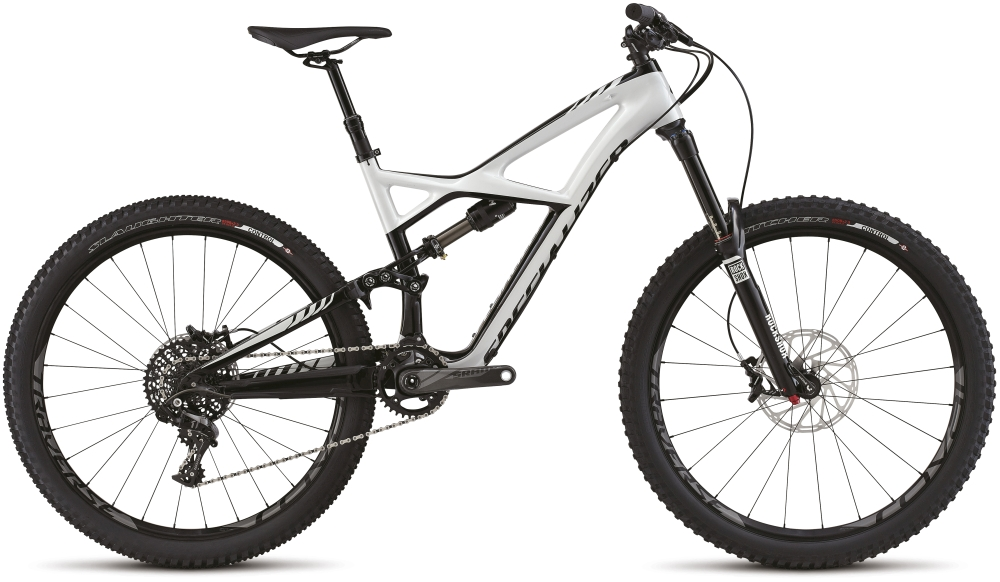 ENDURO FSR EXPERT CARBON 650B DRTY WHT/BLK S - Alpha Bikes