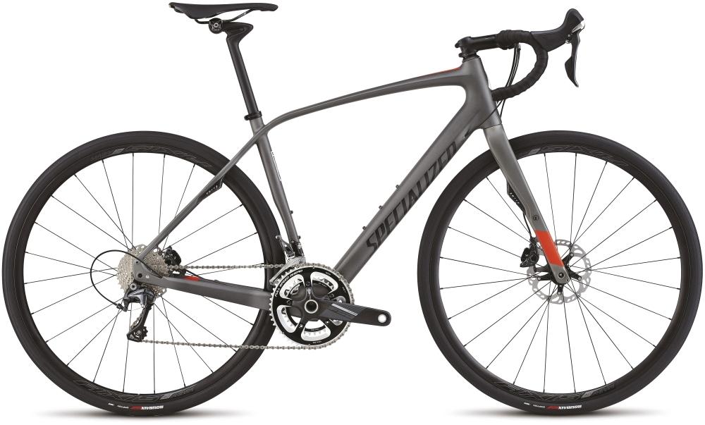 Specialized DIVERGE EXPERT CARBON SIL/RKTRED 61 - Bartz Bikesystem & Velodepot