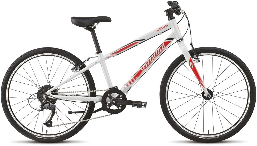 HTRK 24 SL INT DRTY WHT/RKTRED/BLK 11 - Alpha Bikes
